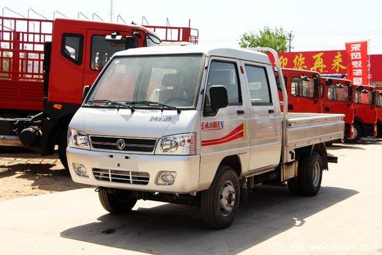 东风 小霸王V 1.3L 91马力 汽油 2.7米双排栏板微卡(国六)(EQ1020D60Q4)