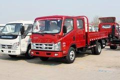 时代汽车 康瑞H1 95马力 2.5米双排栏板轻卡(BJ1046V9AB5-B1) 卡车图片