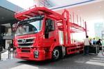 红岩 杰狮M100 390马力 4X2 中置轴轿运车(CQ5186TCLHMVG561)