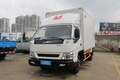 江铃 新凯运 116马力 4米单排厢式轻卡(宽体)(JX5048XXYXGC2) 卡车图片