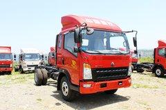 中国重汽HOWO 统帅 148马力 3.85米排半轻卡底盘(ZZ2047CCYF332CE145) 卡车图片