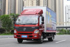 福田 欧马可3系 超能版 150马力 4.2米单排厢式轻卡(BJ5049V8BD6-FA) 卡车图片