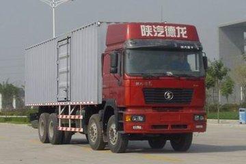 陕汽 德龙F2000重卡 280马力 8X4 9米厢式载货车(SX5244XXYNM406)