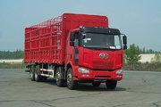 解放 J6M重卡 260马力 8X4 仓栅载货车(CA5240CLXYP63K1L6T4A2E)