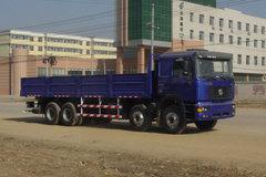 陕汽 德龙F2000重卡 310马力 8X4 8.8米栏板载货车(标准版)(SX1315NR406) 卡车图片
