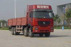 陕汽 德龙F2000重卡 345马力 8X4 9米栏板载货车(标准版)(SX1315NR406C) 卡车图片