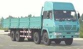 陕汽 奥龙重卡 336马力 8X4 9.3米栏板载货车(中长高顶)(SX1315TR456)