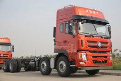 重汽王牌 W5B-H重卡 340马力 8X4 9.6米仓栅式载货车(457后桥)(CDW5310CCYA1T4J) 卡车图片