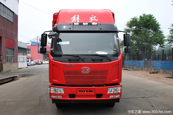 降价促销一汽解放J6L载货车仅售15.90万