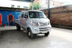 重汽王牌 W1系 1.8L 68马力 柴油 2.5米双排栏板微卡(CDW5030CCYS3M4) 卡车图片