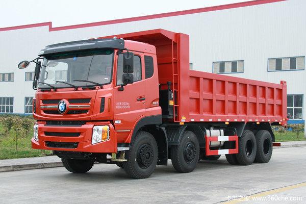 重汽王牌 W5B-H重卡 310马力 8X4 6.8米自卸车(CDW3310A1S5)
