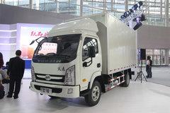 跃进 上骏X300-33 112马力 4.24米单排厢式轻卡(6档)(NJ5042XXYDCFT) 卡车图片