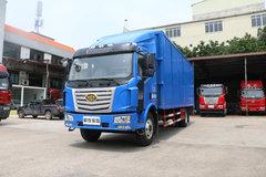 一汽柳特 金陆中卡 锡柴170马力 4X2 7.7米厢式载货车(LZT5161XXYPK2E4L5A95) 卡车图片