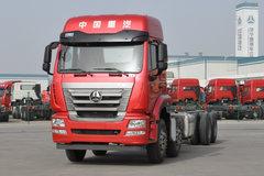 中国重汽 豪瀚J5G 310马力 8X4 混凝土搅拌车底盘(ZZ1325N3263E1K)