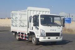 一汽凌河 城市之星 87马力 3.8米排半仓栅式轻卡(CAL5040CCYDCRE5) 卡车图片