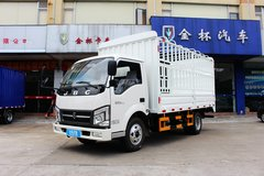 金杯 骐运 116马力 4X2 4.3米单排仓栅式轻卡(SY1044DH2S) 卡车图片