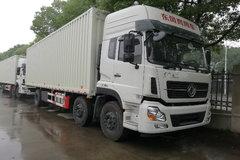 东风商用车 天龙重卡 245马力 6X2 9.6米厢式载货车(DFL5253XYKAX1B)(翼开启) 卡车图片