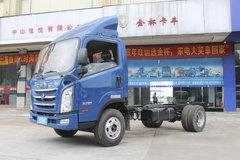 四川现代 瑞越 109马力 4.18米单排栏板轻卡底盘(CNJ1041ZDB33M)