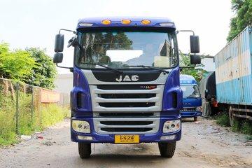 江淮 格尔发A5L中卡 165马力 4X2 6.77米排半仓栅式载货车(HFC5161CCYP3K1A50S3V)