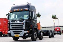 江淮 格尔发K3W重卡 270马力 8X2 9.5米排半载货车底盘(HFC1311P2K3G43HF) 卡车图片