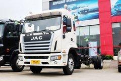 江淮 格尔发K6L中卡 190马力 4X2 7.8米排半厢式载货车底盘(HFC5161XXYPZ5K1E3F) 卡车图片