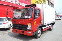 重汽HOWO 统帅 141马力 4X2 冷藏车(ZZ5047XLCF341CE145)