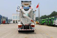 中国重汽 HOWO重卡 380马力 8X4 京五搅拌车(ZZ5317GJBN3667E1)