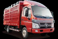 福田 骁运L2 110马力 4.15米单排仓栅轻卡(BJ5045CCY-3) 卡车图片