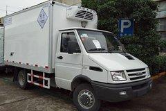 南京依维柯 129马力 4X2 冷藏车(南汽-畅达牌)(NJ5048XLC4A)