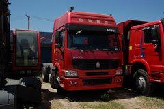 中国重汽 HOWO重卡 410马力 6X2 牵引车(高顶双卧铺)(ZZ4257V3231V) 卡车图片