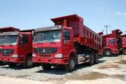 中国重汽 HOWO重卡 290马力 6X4 4.8米自卸车(不带卧铺)(ZZ3257M2941)