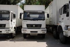 中国重汽 黄河少帅 190马力 4X2 厢式载货车(ZZ5121G5615W) 卡车图片