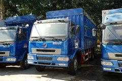 东风柳汽 乘龙中卡 140马力 4X2 5.7米仓栅载货车(带卧铺)(LZ5080CSLAL) 卡车图片