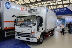 江淮 帅铃H 130马力 4X2 冷藏车(飞球牌)(ZJL5081XLCH5)