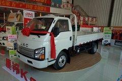 江淮 康铃K5 116马力 4米单排栏板轻卡(HFC1041PV3K1C2V) 卡车图片