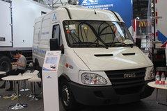 康飞 129马力 4X2 冷藏车(南京依维柯底盘)(KFT5041XLC56)