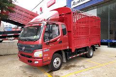 福田 欧马可3系 143马力 3.8米排半仓栅式轻卡(BJ5049V8CEA-FB) 卡车图片