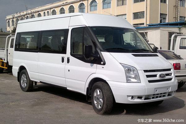 江铃汽车 新世代全顺 2016款 155马力 6座 长轴 2.2T高顶多功能车