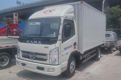 凯马 福运来 87马力 4X2 4.2米单排厢式载货车(KMC5042XXY33D4) 卡车图片