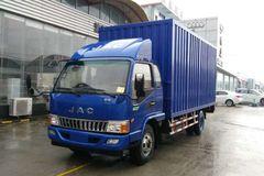 江淮 骏铃E3 88马力 3.8米排半厢式轻卡(HFC5041XXYP93K4C2) 卡车图片