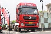 陕汽重卡 德龙X3000 375马力 8X4 9.55米仓栅式载货车(SX5310CCY4C456)
