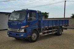 江淮 骏铃W455中卡 141马力 4X2 6.2米栏板载货车(HFC1092P91K1D3) 卡车图片