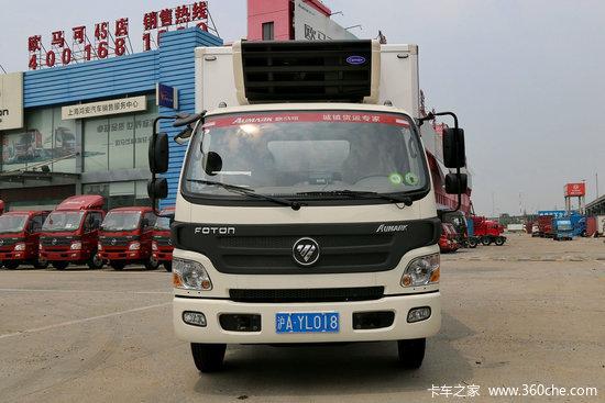 福田欧马可1系 131马力 4X2 冷藏车(BJ5049XLC-A3)