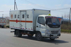 福田奥铃CTX 110马力 4X2单排爆破器材运输车(BJ5049XQY-AB)