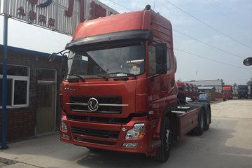 东风商用车 天龙重卡 375马力 6X4天然气牵引车(EQ4250GD5N1)