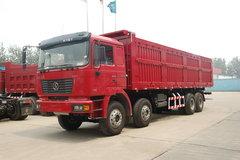 陕汽 德龙F2000重卡 336马力 8X4 7.8米自卸车(加长平顶)(SX3315NR406) 卡车图片