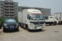 福田 欧马可A系 95马力 4.23米单排厢式轻卡(宽体) 卡车图片