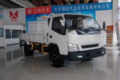 江铃凯锐 116马力 4.2米单排栏板轻卡(窄体) 卡车图片
