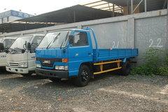江铃经典顺达 116马力 4.3米单排栏板轻卡 卡车图片