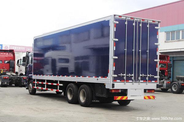 陕汽重卡 德龙新M3000 绿通版 350马力 8X4 9.55米栏板载货车(SX1310GB456)